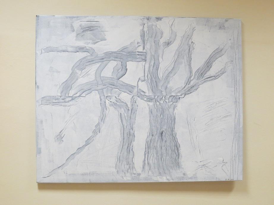 Weiss (80x100) Acryl (2013)